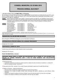 CONSEIL MUNICIPAL DU 20 MAI 2010 PROCES ... - Bergerac