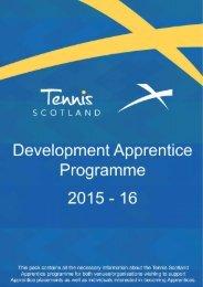 TS Tennis Development Apprentice 15-16