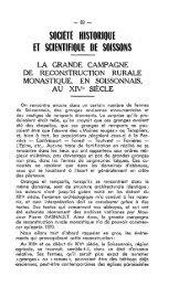 y - Société archéologique, historique et scientifique de Soissons