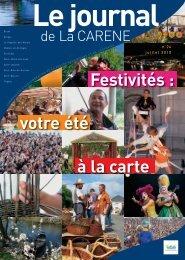 Festivités : votre été à la carte - La Carène