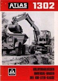 Technische Daten Prospekt AB 1302 von 1967 - ATLAS ...