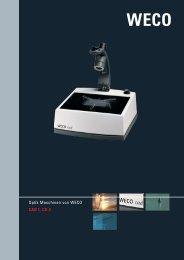 Optik Maschinen von WECO CAD I, CD 3 - Weco-optik.com