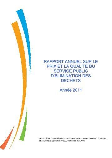 rapport annuel année 2011 - Ville de Gap