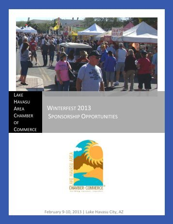 Winterfest 2013 Sponsorship Opportunities - Lake Havasu Area ...