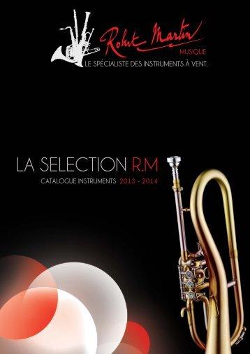 LA SELECTION R.M - Instruments de musique Robert Martin à Lyon