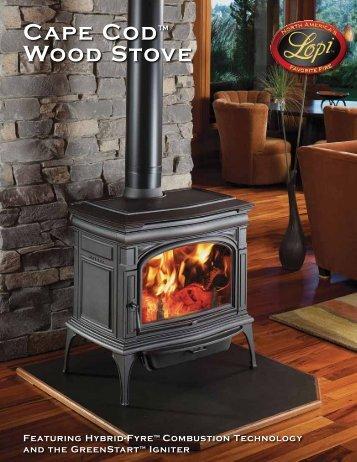 Cape Cod™ Wood Stove - Lopi