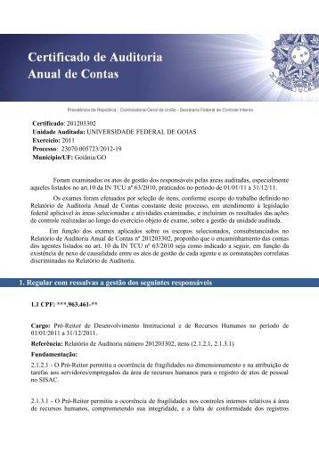 3.663 KB - Pró-Reitoria de Administração e Finanças - UFG