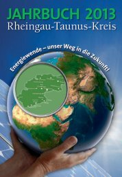 jahrbuch 2013 - Rheingau - Taunus - Kreis