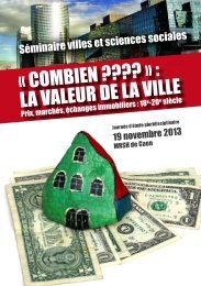 Consulter le 4 pages - CRHQ - CNRS