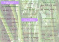 Massages relaxants et harmonisants Massage du Monde Aux huiles ...
