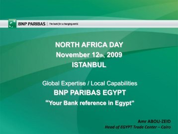 BNP PARIBAS In Egypt - Teb.com