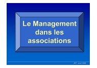 management des Associations par L_Institut de la ... - anim.ch