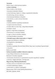 Történelem Írásbeli vizsga és szóbeli érettségi témakörei: Az ókor és ...