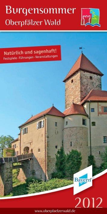 """""""Burgensommer 2012"""" zum Download - Oberpfälzer Wald"""