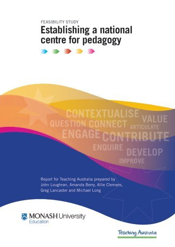 Feasibility study - Establishing a national centre for pedagogy