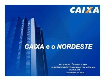 CAIXA eo NORDESTE - Sudene