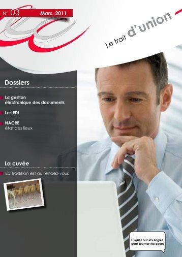 d'union - Ordre des experts comptables des Pays de Loire