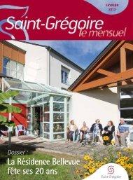 Saint-Grégoire, le Mensuel Février 2013