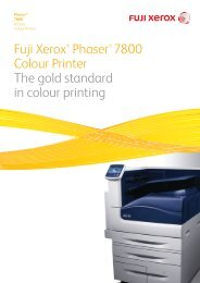 DocuPrint 205/255/305 User Guide - Fuji Xerox Printers