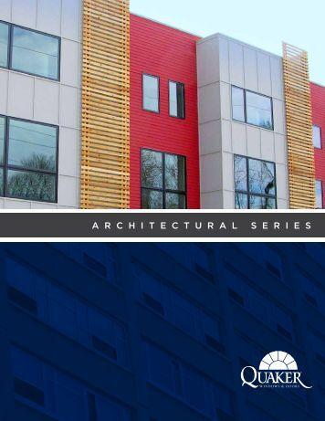 Architectural Brochure - Quaker Windows and Doors