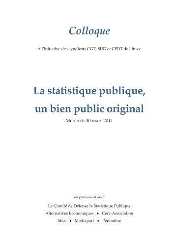 Présentation - cgt-insee