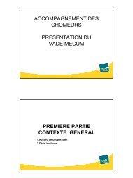 Intervention de Madame Rose-Marie MENU - CSEF Mons