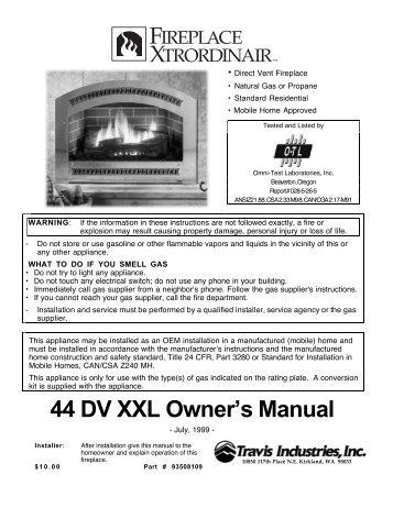 44 DV XXL - Travis Industries Dealer Services Login Page