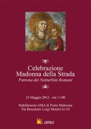 Celebrazione Madonna della Strada - Ama