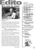 Octobre 2011 Bulletin municipal n°32 - Saint-Priest-sous-Aixe - Page 3