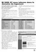 Octobre 2011 Bulletin municipal n°32 - Saint-Priest-sous-Aixe - Page 7