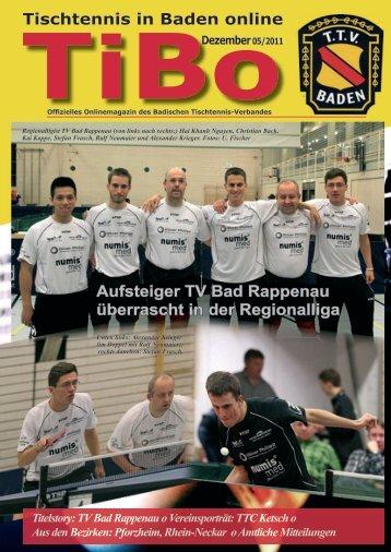 Tibo - Badischer Tischtennisverband BATTV