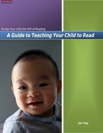 A Guide to Teaching Your Child to Read - Amazon S3