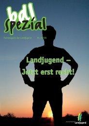Landjugend – Jetzt erst recht! - Bund der Deutschen Landjugend