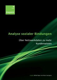 Analyse sozialer Bindungen - mayato