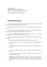 CV alain bernard 2011 - UFR Pluridisciplinaire de Bayonne