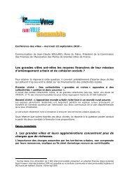 texte Boulard - Association des maires de grandes villes de France