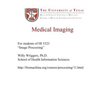 Medical Imaging - Seminar Topics Project Ideas On Computer ...