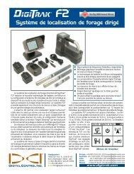 Système de localisation de forage dirigé - Digital Control Inc.