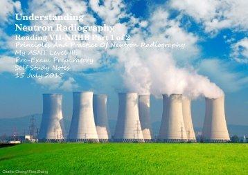 Understanding Neutron Radiography