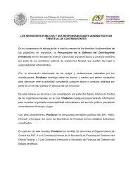 LOS SERVIDORES PÚBLICOS Y SUS RESPONSABILIDADES ...