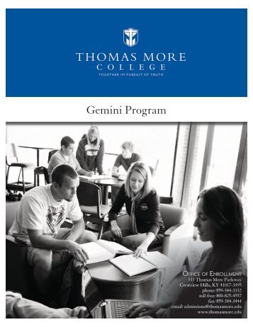 Gemini Program - Mother of Mercy High School