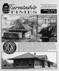 February 2003 - Roanoke Chapter National Railway Historical Society