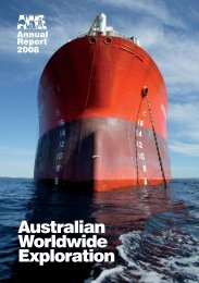 Download the full 2008 Annual Report 3.9MB - AWE
