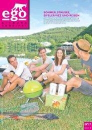 ego Magazin Bitburg & Südeifel - Ausgabe 17