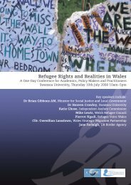 Refugee Rights and Realities in Wales - Welsh Refugee Council