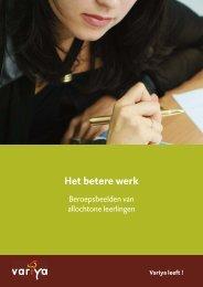 Een verstandige keuze:Opmaak 1.qxd - Innovatief in Werk