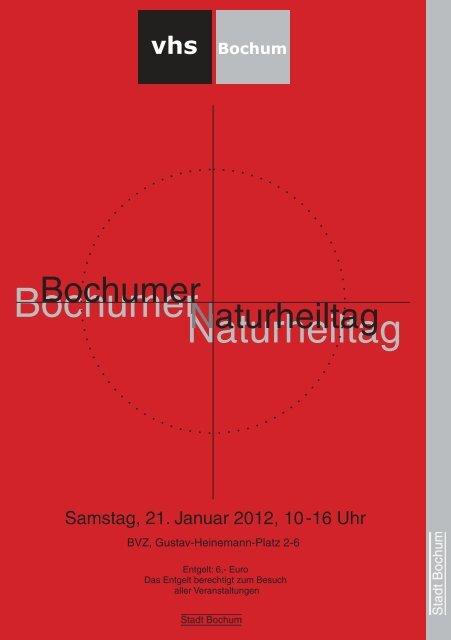 16:00 Uhr - Volkshochschule Bochum