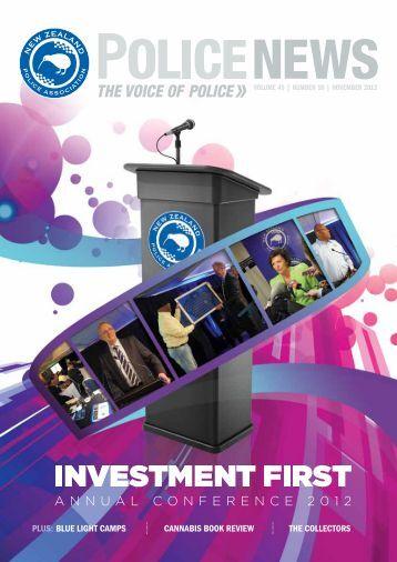 2012-11 - New Zealand Police Association