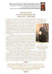Servant of God Fr. Peter Semenenko, CR - St. Mary Roman Catholic ...