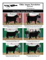 April - Ohio Angus Association
